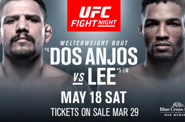 UFC Betting Odds Dos Anjos Lee