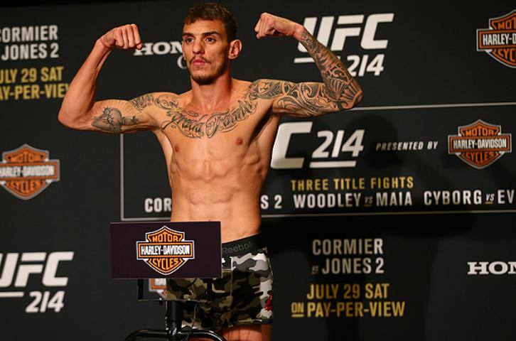 UFC Betting Odds Renato Moicano Korean Zombie