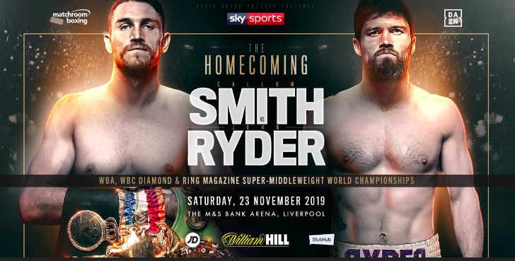Smith Ryder Betting Odds