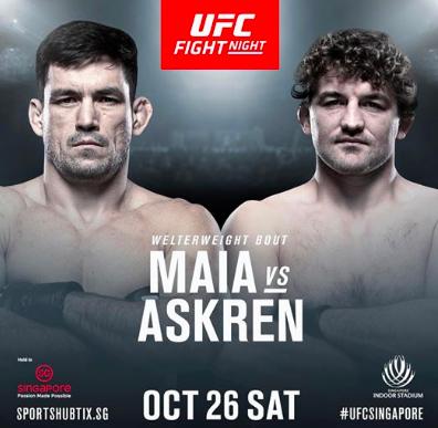 UFC Betting Odds Maia Askren