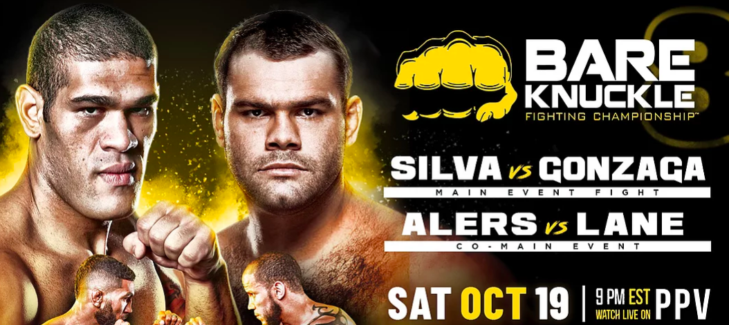 BKFC 8 Bigfoot Silva Gonzaga Betting Odds