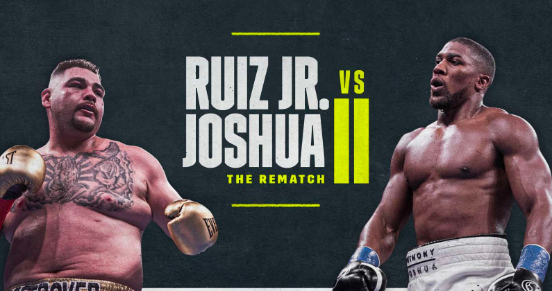 Ruiz Jr Joshua 2 Best Betting Odds