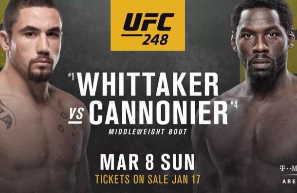 UFC 248 Odds