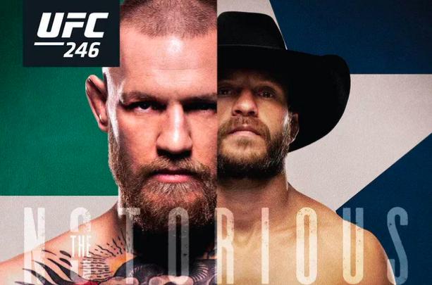 UFC 246 Odds McGregor Cerrone