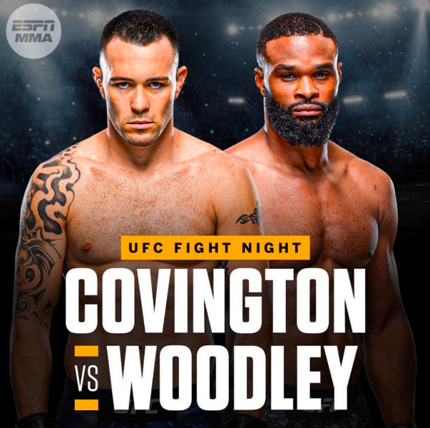Ufc Odds Released For Colby Covington Vs Tyron Woodley Betting Insider Journal