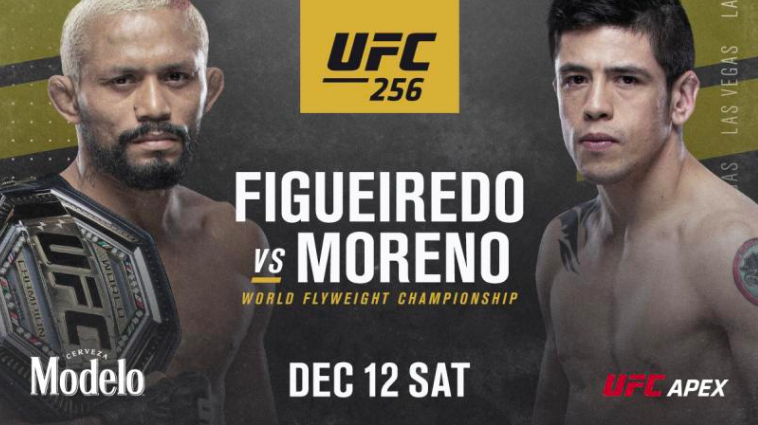 UFC 256 Figueiredo vs. Moreno Full Fight Replay