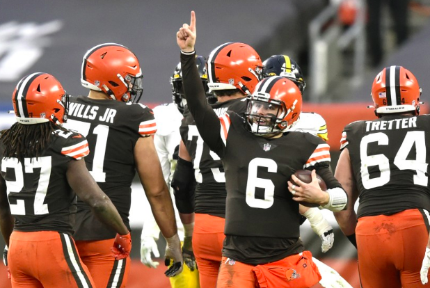 The Cleveland Browns are in the Playoffs