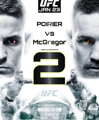 McGregor vs Poirier 2 Prop bets