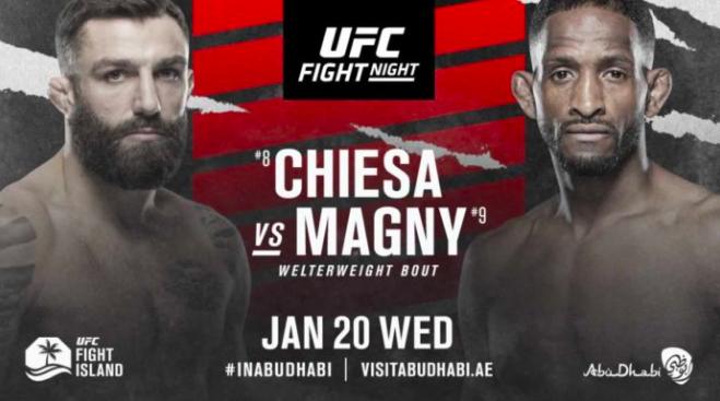 Michael Chiesa vs Neil Magny Odds