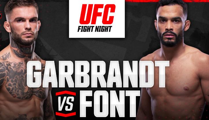 Cody Garbrandt vs Rob Font