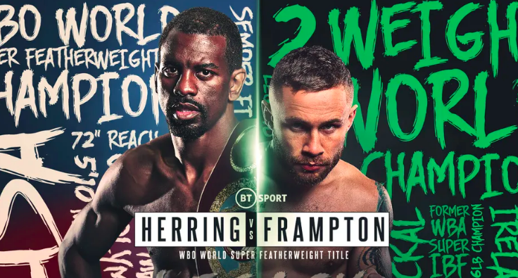 Herring vs Frampton set for April 3 in Dubai