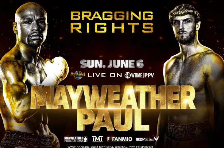 Mayweather vs Logan Paul Odds